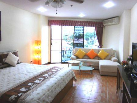 Jomtien condo rental View talay 2B 4th flr